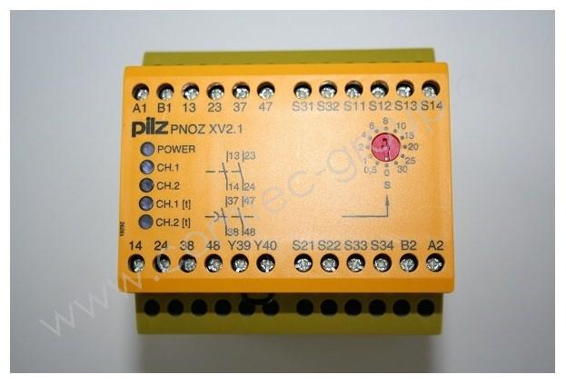 PILZ PNOZ-XV2.1 30/120VAC/24VDC 0.1-30s 774515